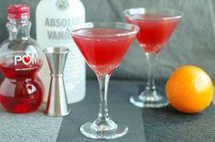 Vanilla Pomegranate Martini