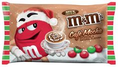 """2 new M&M's that are flavored like """"Chocolate"""".. WOW!"""