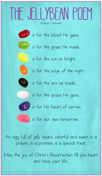 Easter Activities, Easter Crafts For Kids, Easter Egg Hunt Ideas, Jellybean Prayer, Holiday Crafts, Holiday Fun, Prayer For Students, Easter Story, School Notes