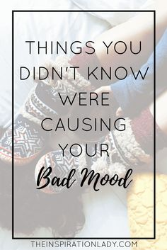 Thugs You Didn't Know Were Causing Your Bad Mood