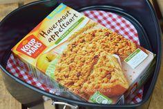 Carola Bakt Zoethoudertjes : Havermout appeltaart met mix van Koopmans
