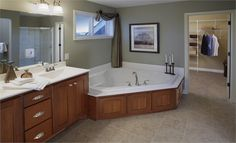 #lennardreamhome  Lennar in Ridgestone - Sinclair II model - Master Bathroom
