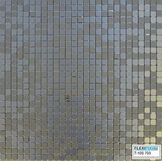 $22. per square foot on Amazon, including shipping.  FLEXIPIXTILE, Modern Aluminum Mosaic Tile, Peel & Stick, Backsplash, Accent Wall, 1 sq. ft., SILVER SPOON