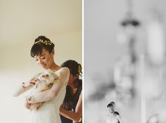 B/W photo & framing  Old St Hilary's Church Wedding | Ed Peers Photography