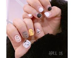 • Nail Design 스누피 네일 디자인 유광/무광네일 : 네이버 블로그 Nails, Beauty, Finger Nails, Ongles, Cosmetology, Nail, Sns Nails