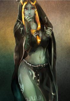 [LOZ] Midna's true form by Seuyan