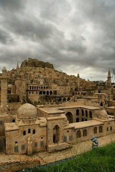 Mardin. Stone houses.