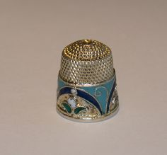 Antique Russian Silver Thimble c1900