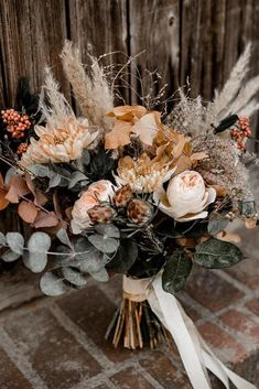 Sunset Dusty Orange Wedding Color Ideas For Fall 2020 # Bohoweddingcenterpieces . Sunset Dusty Orange Wedding Color Ideas For Fall 2020 Dusty Orange Boho Wedding Bouquets … # Fall Wedding Bouquets, Fall Wedding Flowers, Floral Wedding, Wedding Bride, Wedding Ideas, Bohemian Wedding Flowers, Bohemian Chic Weddings, Bohemian Wedding Decorations, Boho Flowers