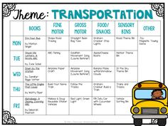 Tot School: Transportation - Baby K - Daycare Themes, Preschool Themes, Preschool Learning, Preschool Classroom, Learning Activities, Teaching Ideas, Preschool Printables, Preschool Crafts, April Preschool