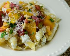 Pasta with Ricotta and Heirloom Tomatoes