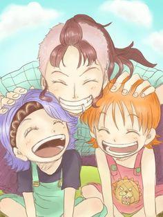 Nojiko Nami Bellemere One Piece