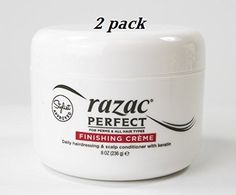 Razac Perfect for Perm Finishing Creme 8oz (Pack of 2) (w/Nail File) *** This is an Amazon Affiliate link. Check this awesome product by going to the link at the image.