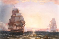 N.Arvido -  Chasing the USS CONSTITUTION ,1865