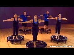 Exercell DVD 2011 Beginner 1 Transform your life with rebounding Pilates For Beginners, Pilates Video, Beginner Pilates, Beginner Workouts, Pop Pilates, Pilates Yoga, Pilates Workout, Trampolines, Yoga Videos