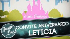 Convite Animado Aniversário Realeza (Sombra) - Leticia