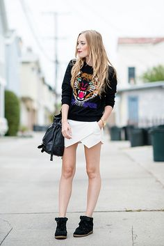 Kimberly Pesch of Eat Sleep Wear in the Laidback Pullover