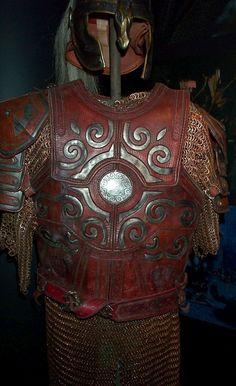 Torso armor.