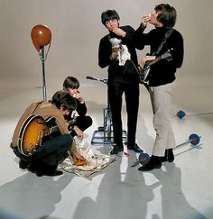 Swingin': sirpeter64: Beatles in quality colour.