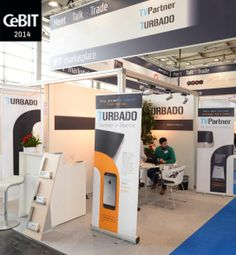 Hannover, CeBIT stand