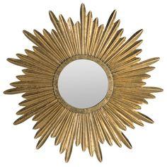 sunburst josephine wall mirror $130