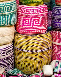 oaxaco baskets photo by w. john hayden