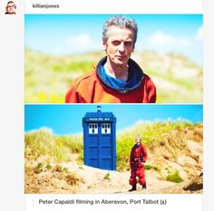 Doctor Who sneak peek<--DEAR SWEET HOLY TARDIS OF GALLIFREY, WHAT IS IT WITH THE DOCTOR AND THIS SPACESUIT???