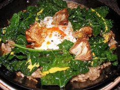 Paella With Wild Mushrooms Recipe — Dishmaps