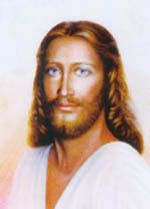 Christ Jesus painting by Nanette Crist (1972-2005)