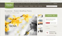 Wordpress theme (paid) https://creativemarket.com/TheGravity/54850-Novalumen-Modern-WordPress-Theme