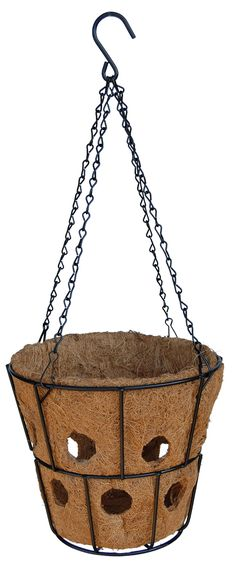 Bloom Big Super Hanging Basket with Chain Hanger - Hanging Baskets, Hanging Plants, Fall Flowers, Hanger, Bloom, Chain, Big, Gardening, Fall Hanging Baskets