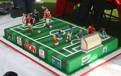 My next bday cake... most defiantley gonna have some Red players vs final team we play #cantwaitforstate #highschoolsoccerexcitment