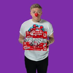 Perfect for selling at work, order boxes of 40 Red Noses to get everyone looking the part.