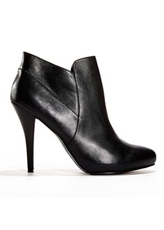 A pair of chic leather booties will add glam to any outfit