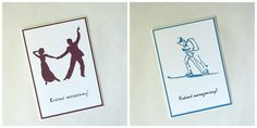 Přání A5 s dárkovými poukazy na taneční lekce a skialpový kurz