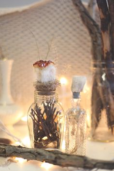 DIY Crystal Bottle Stopper http://blog.freepeople.com/2012/12/diy-crystal-bottle-stoppers/