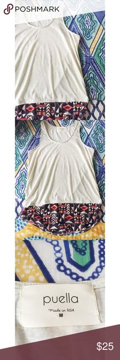 Puella Tank // Anthropologie Details Available Soon! Anthropologie Tops Tank Tops