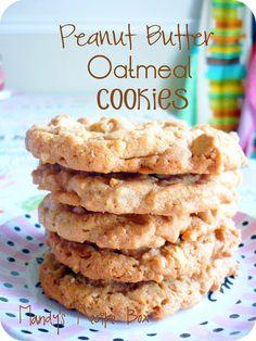 Mandy's Recipe Box: Peanut Butter Oatmeal Cookies