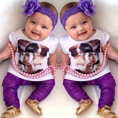 twins...courtesy of Photoshop, smh