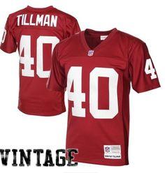 Mens Arizona Cardinals Pat Tillman Mitchell & Ness Cardinal 2000 Retired Player Vintage Replica Jersey #AZCardinals
