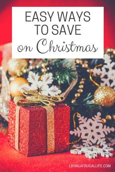 Use these 5 easy ways to save on Christmas this year and enjoy the holiday season even more with your family. Tips include cheap, free and exchange type Christmas ideas for everyone on your list. Christmas On A Budget, Diy Christmas Gifts, Christmas Shopping, Holiday Fun, Christmas Holidays, Christmas Ideas, Holiday Ideas, Cheap Christmas, Xmas Crafts