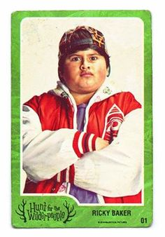The coolest, most skuxx-edest, most gangsta kid in New Zealand. Ricky Baker, Wilder People, Hunt For The Wilderpeople, Movie Characters, Film Posters, Movie Tv, Cinema, Baseball Cards, Sports