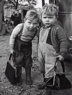 unknown photographer, children of the Depression