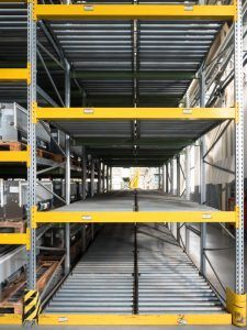Important Considerations When Purchasing Pallet Racks For A New Warehouse S W Betz Warehouse Shelving Pallet Rack Warehouse Layout