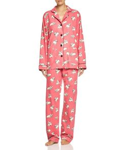 Pj Salvage French Bulldog Pajama Set