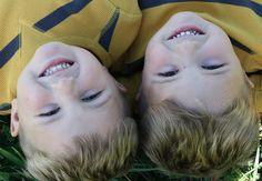 Twin upside down photoshared by www.twinsgiftcompany.co.uk Twin Brothers, Facebook Sign Up, Twins, Gemini, Twin