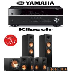 Sony 5.2-Channel 725-Watt 4K A/V Home Theater Receiver + Yamaha ...
