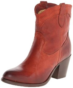 FRYE Women's Tabitha Pull-On Short Western Boot >>> Check this awesome image  : Boots