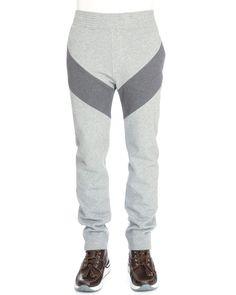 3179d34156d Givenchy Single-Stripe Pull-On Dark Gray Mens Sweatpants. Pánské Tepláky ...