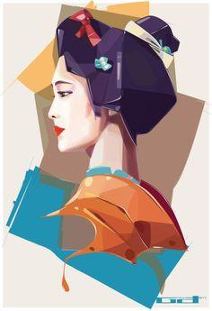 Digital Art by Denis Gonchar, via Behance